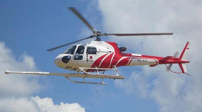 Helicopter for Airborne Surey